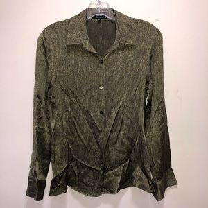 Zanella Platinum Button Down Shirt Made in Italy